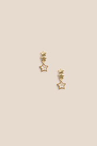 Mini Stella Drop Earring - Gold