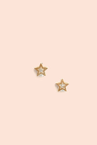 Estrella Stud Earrings - Gold
