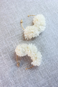 In Bloom Hoop Earrings