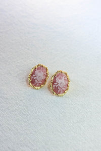 Victoria Cameo Earring Posts