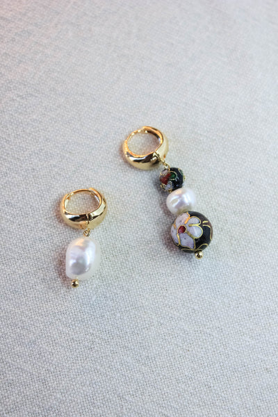 Posh Asymmetrical Earrings