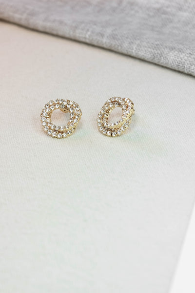 Interlocking Post Earrings