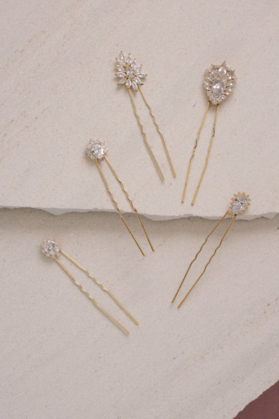 Isabella Hairpin Set of 5