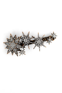 Celestial Hair Clip - Antique Gold