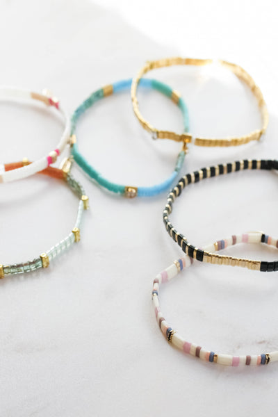Stretch Chiclet Bracelet