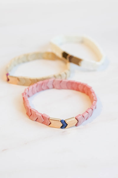 Chevron Stretch Bracelet