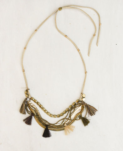 Dancing Tassels Necklace