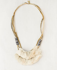 Hmong Tassel Statement Necklace