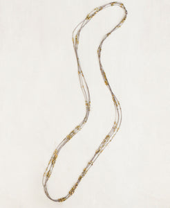 Glistening Four Strand Necklace