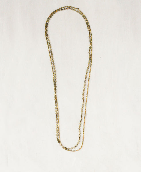 Glistening Shapes Necklace