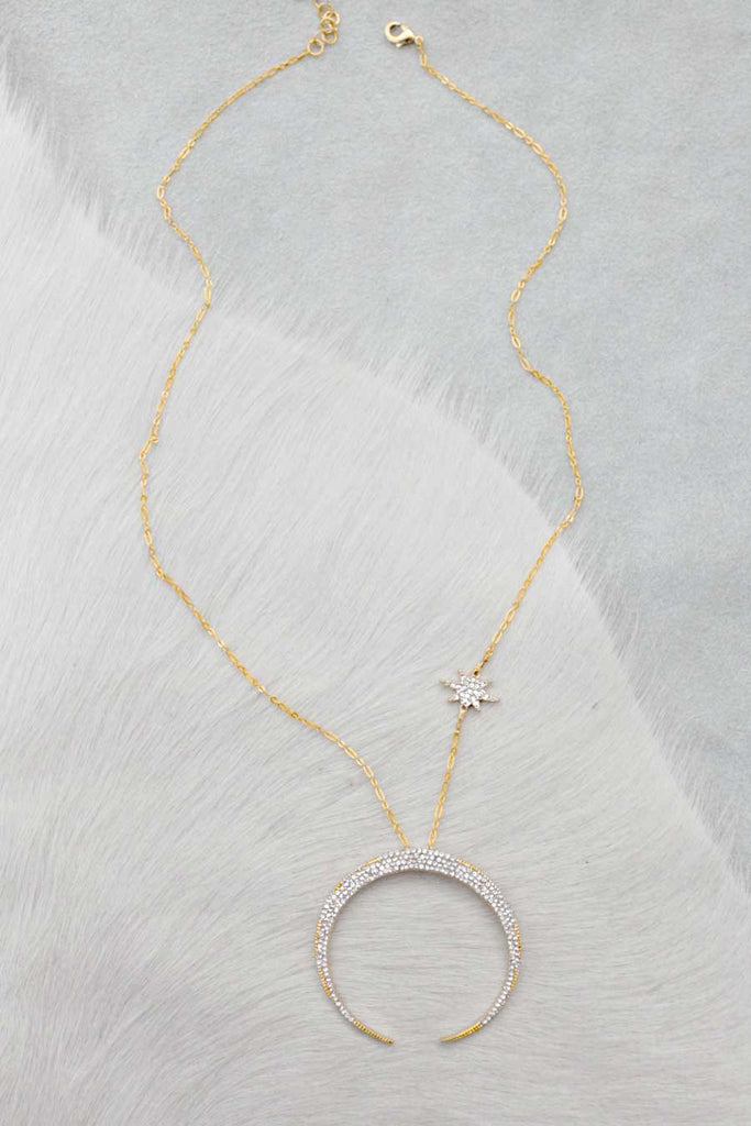 pendant by mae product layla alunamae gold necklace star normal aluna delicate north