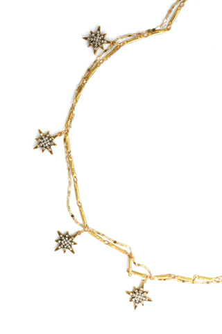 Celestial Whim Prelayer Necklace -Gold