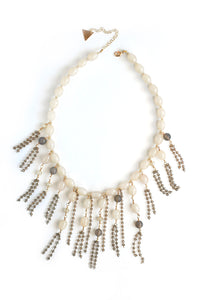 Candy Crystal Necklace - Smokey