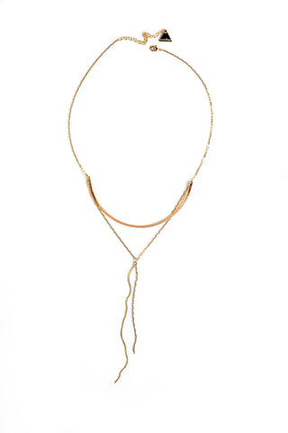 Summer Sultry Ubar Necklace - Gold
