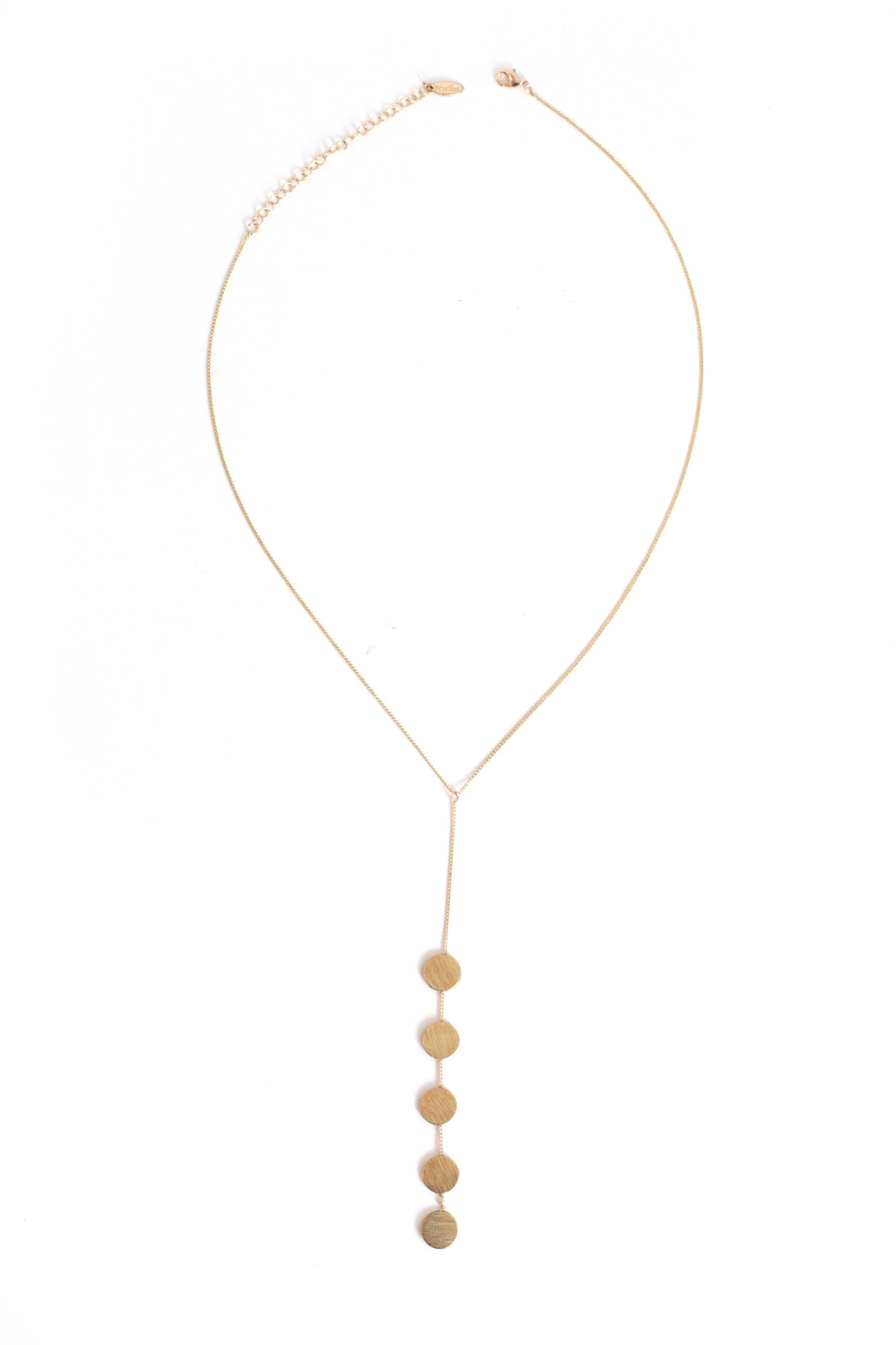 Multi-Circle Necklace - Gold