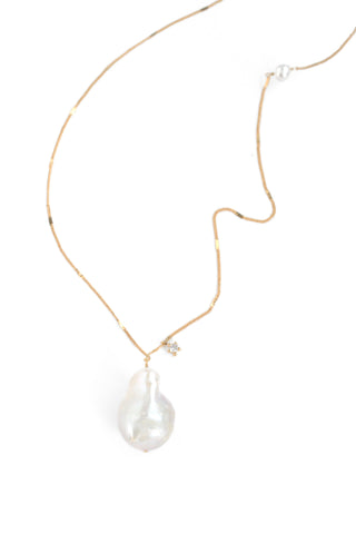 Single Pearl Necklace - Pearl