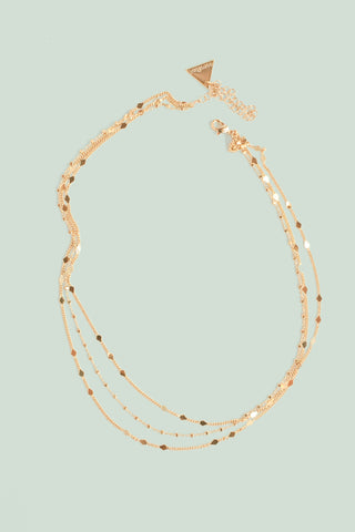 Multilayer Chain Necklace- Gold