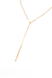 Delicate Drop Necklace - Gold
