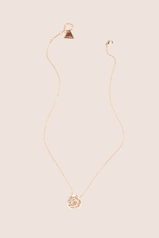 Mini Coin Necklace - Gold