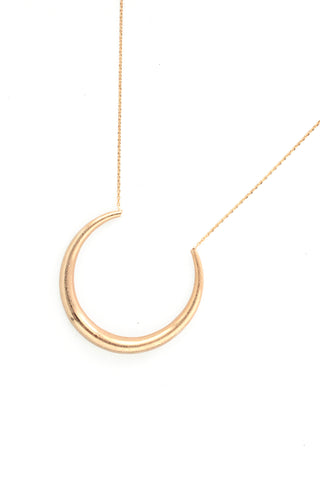 Delicate Lunar Necklace - Gold