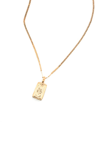 Mini Charm Dainty Necklace - Gold