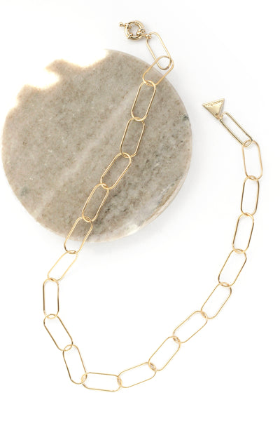 Alena Gold Chain Necklace