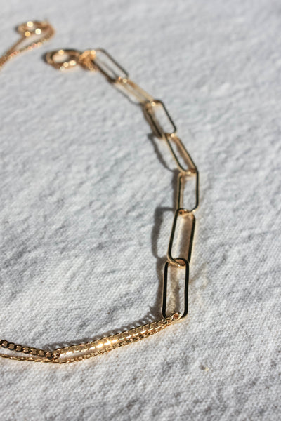 Asymmetrical Modern Necklace