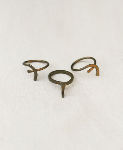 Tails Stacking Ring (Set of 3)