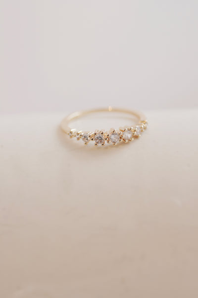 Pearl Embellished Stacking Rings
