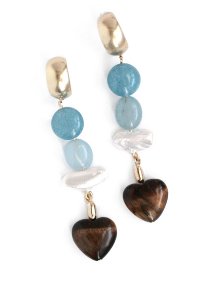Amore Heart Earrings