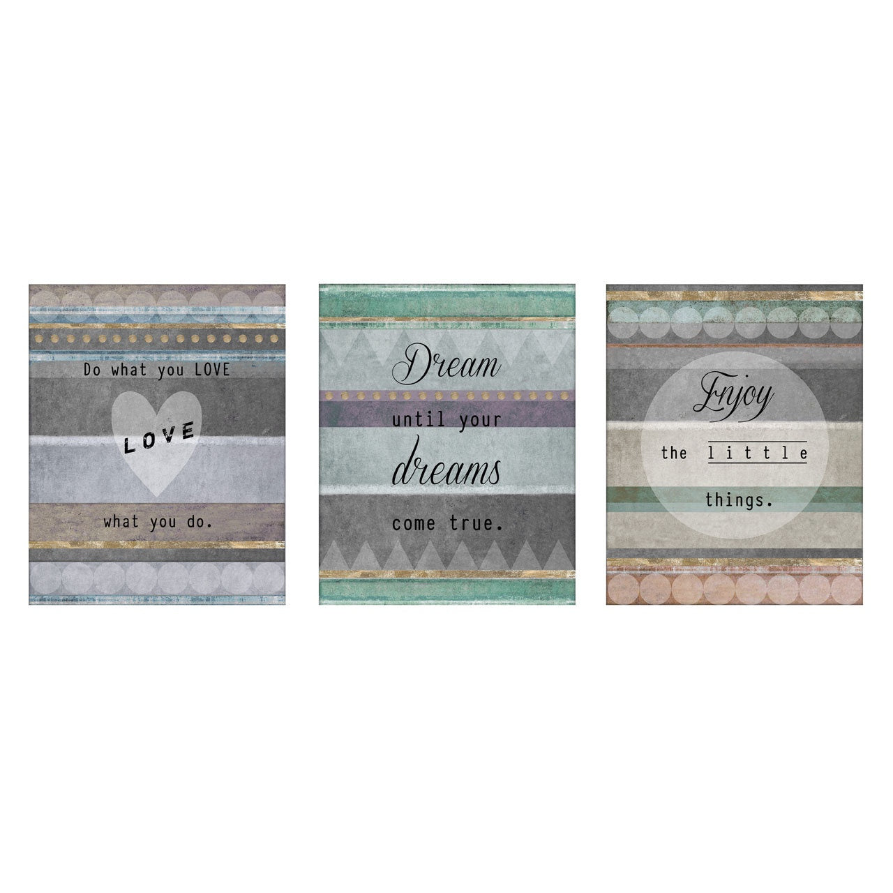 PREMIER S/3 POSITIVE TYPOGRAPHY WALL PLAQUES 20 - 2800752