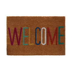 PREMIER WELCOME MULTI COLOUR DOORMAT 60CM X 40CM - 1901560
