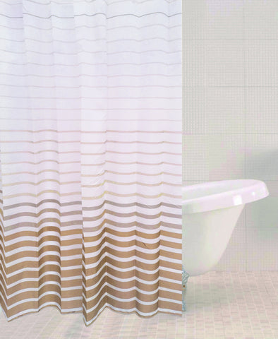 Sabichi Stone Stripe Shower Curtain - 179463