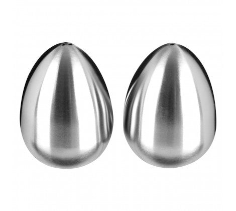 PREMIER S/S SALT & PEPPER EGG SHAPED - 0511193
