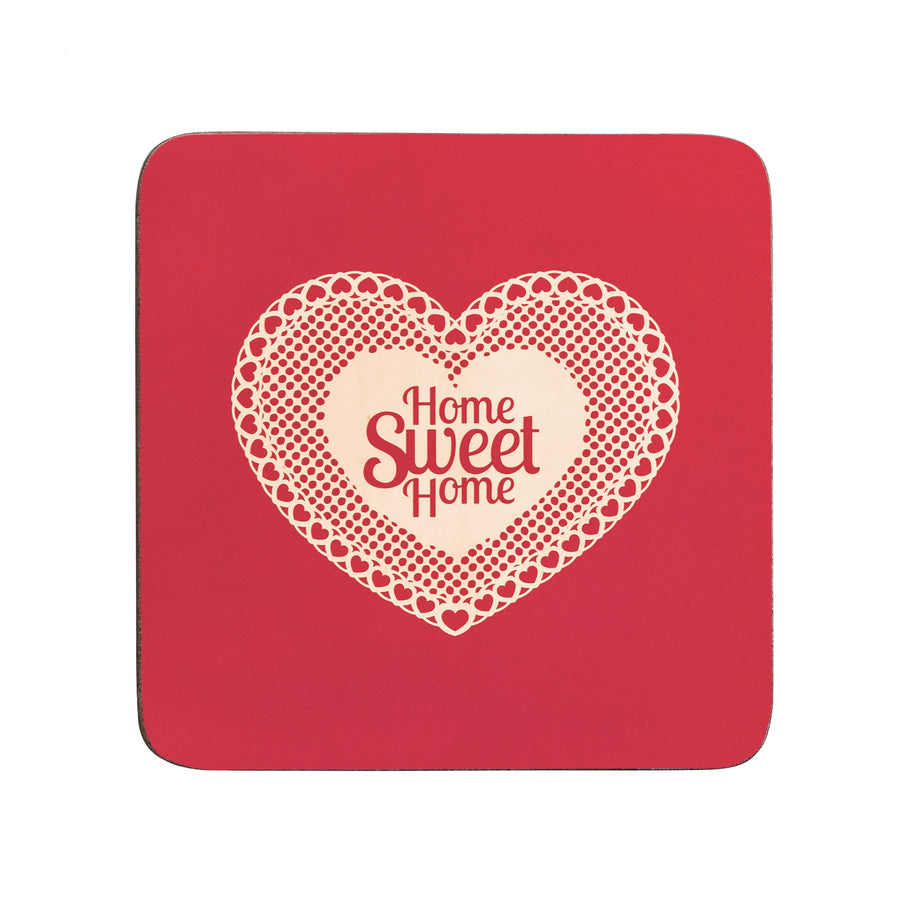 PREMIER S/4 CORK COASTERS HOME SWEET HOME- 1203611