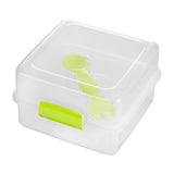 PREMIER GRUB TUB LUNCH BOX CLEAR / GREEN- 1206286