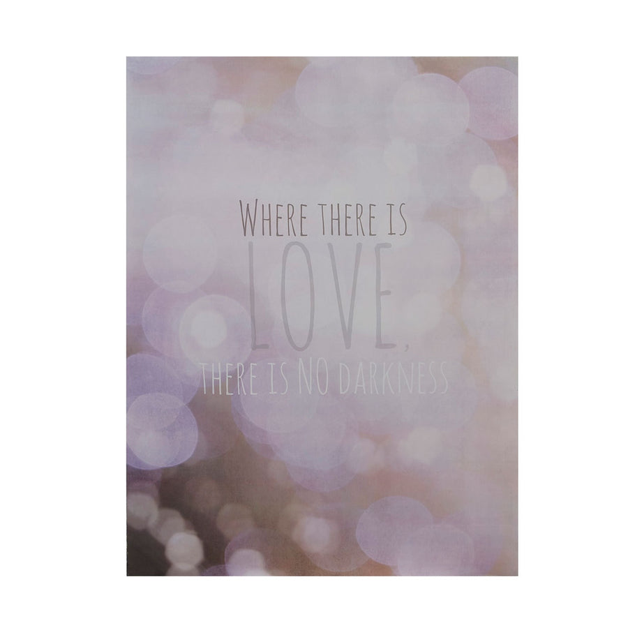 PREMIER WHERE THERE IS LOVE WALL PLAQUE 30 X 40C - 2800761