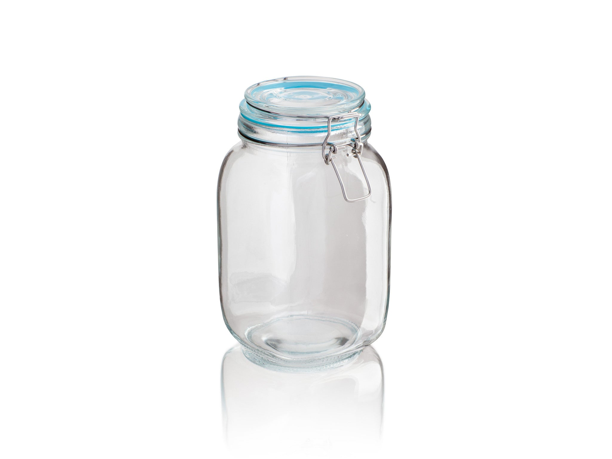 Sabichi Glass Clip Jar - Homely Nigeria - 3
