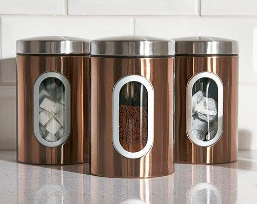 Sabichi Set of 3 canisters- 57992622 - Homely Nigeria