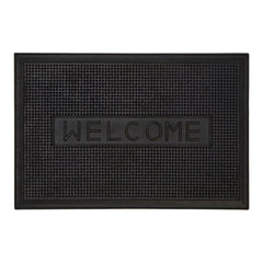PREMIER WELCOME RUBBER DOORMAT 60CM X 40CM - 1901745