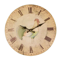 PREMIER WALL CLOCK 29CM HOME TO ROOST MDF-2200392 - Homely Nigeria