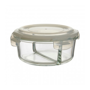 PREMIER FRESKA 950ML RND GLASS CONTAINER - 1209898