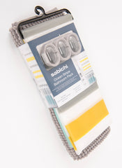 Sabichi Ocean Stripe Bath Mat & Shower Curtain Set- 186164