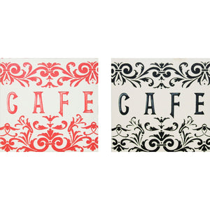 PREMIER SMALL CAFE PRINT 2 ASSORTED - 2800336