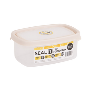 Wham Seal It 1.1Ltr Rectangular Food Storage