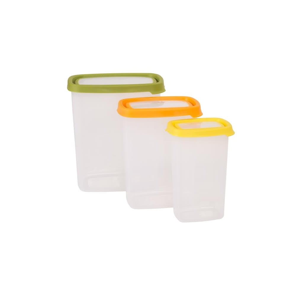 Wham Seal it 3pc tall Rect. food box set (3.2L,1.7L,350ML) - 40580