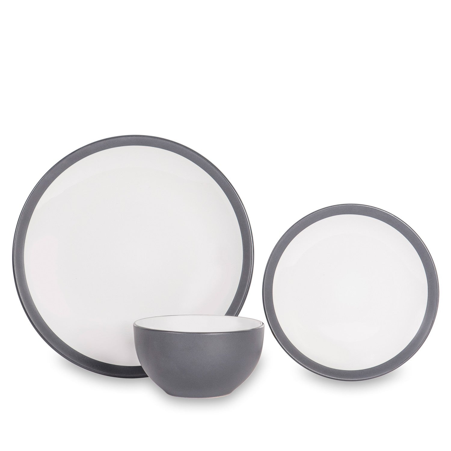 Sabichi Noah Slate Grey 12pc Dinner Set- 184788