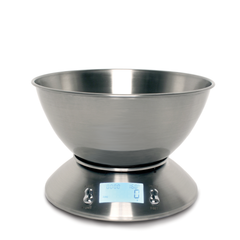 Sabichi Stainless Steel 5kg Digital Bowl Kitchen Scales- 189646