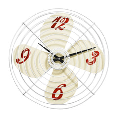PREMIER 38CM DIA RETRO FAN WALL CLOCK - Homely Nigeria - 1