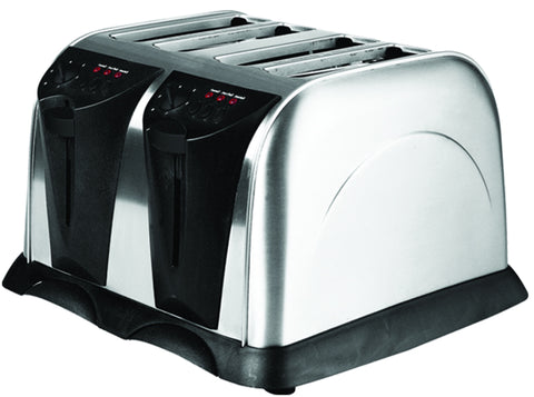 Sabichi S/S 4 Slice Toaster Satin Finish - 87126